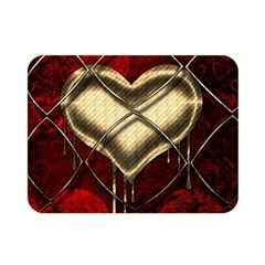 Love Hearth Background Scrapbooking Paper Double Sided Flano Blanket (mini)