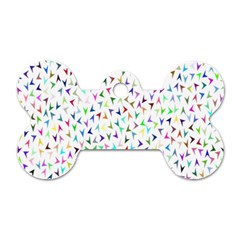 Pointer Direction Arrows Navigation Dog Tag Bone (two Sides) by Amaryn4rt
