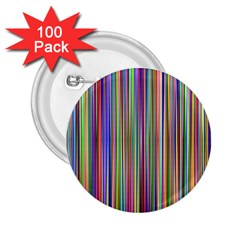 Striped Stripes Abstract Geometric 2 25  Buttons (100 Pack)  by Amaryn4rt