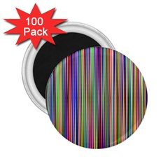 Striped Stripes Abstract Geometric 2 25  Magnets (100 Pack)  by Amaryn4rt