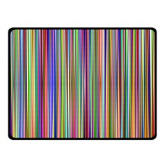 Striped Stripes Abstract Geometric Fleece Blanket (small) by Amaryn4rt