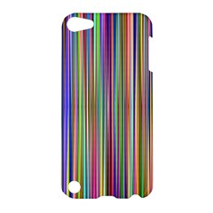 Striped Stripes Abstract Geometric Apple Ipod Touch 5 Hardshell Case by Amaryn4rt