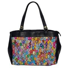 Sakura Cherry Blossom Floral Office Handbags by Amaryn4rt