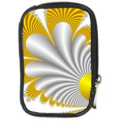 Fractal Gold Palm Tree  Compact Camera Cases by Amaryn4rt