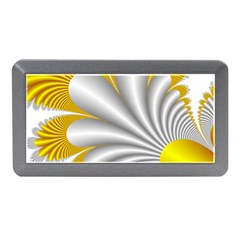 Fractal Gold Palm Tree  Memory Card Reader (mini) by Amaryn4rt