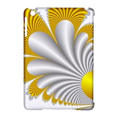 Fractal Gold Palm Tree  Apple Ipad Mini Hardshell Case (compatible With Smart Cover) by Amaryn4rt