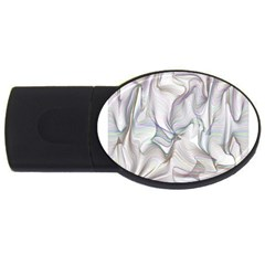 Abstract Background Chromatic Usb Flash Drive Oval (4 Gb) by Amaryn4rt