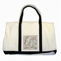 Abstract Background Chromatic Two Tone Tote Bag by Amaryn4rt