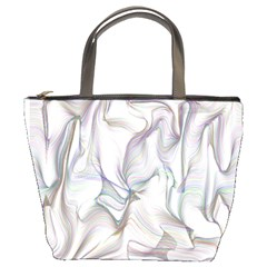 Abstract Background Chromatic Bucket Bags by Amaryn4rt