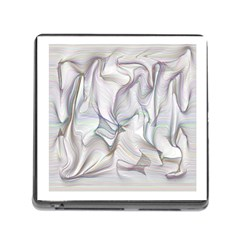 Abstract Background Chromatic Memory Card Reader (square) by Amaryn4rt
