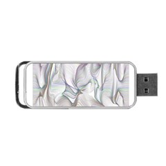 Abstract Background Chromatic Portable Usb Flash (one Side) by Amaryn4rt