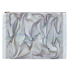 Abstract Background Chromatic Cosmetic Bag (xxl)  by Amaryn4rt