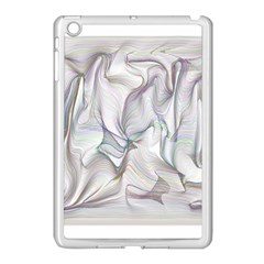 Abstract Background Chromatic Apple Ipad Mini Case (white) by Amaryn4rt
