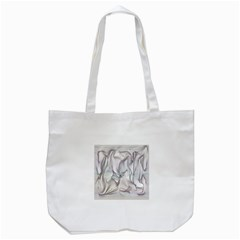 Abstract Background Chromatic Tote Bag (white) by Amaryn4rt