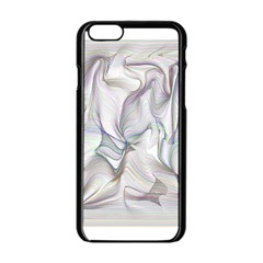 Abstract Background Chromatic Apple Iphone 6/6s Black Enamel Case by Amaryn4rt
