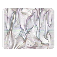 Abstract Background Chromatic Double Sided Flano Blanket (large)  by Amaryn4rt