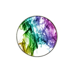 Colour Smoke Rainbow Color Design Hat Clip Ball Marker (4 Pack) by Amaryn4rt