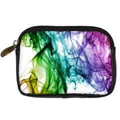 Colour Smoke Rainbow Color Design Digital Camera Cases by Amaryn4rt