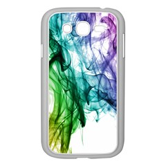 Colour Smoke Rainbow Color Design Samsung Galaxy Grand Duos I9082 Case (white) by Amaryn4rt