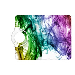 Colour Smoke Rainbow Color Design Kindle Fire Hd (2013) Flip 360 Case by Amaryn4rt