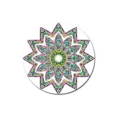 Decorative Ornamental Design Magnet 3  (round) by Amaryn4rt