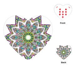 Decorative Ornamental Design Playing Cards (heart)  by Amaryn4rt