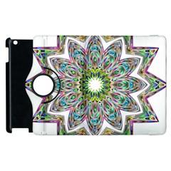 Decorative Ornamental Design Apple Ipad 2 Flip 360 Case by Amaryn4rt