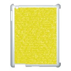 Handwriting  Apple Ipad 3/4 Case (white) by Valentinaart