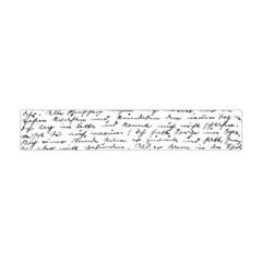 Handwriting  Flano Scarf (mini) by Valentinaart