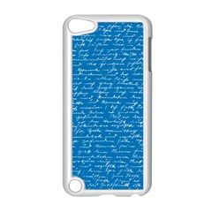Handwriting Apple Ipod Touch 5 Case (white) by Valentinaart