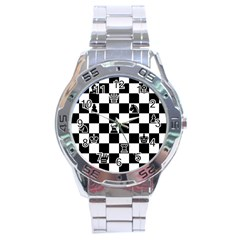 Chess Stainless Steel Analogue Watch by Valentinaart