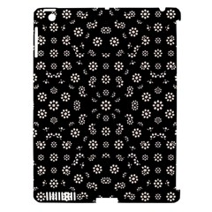 Dark Ditsy Floral Pattern Apple Ipad 3/4 Hardshell Case (compatible With Smart Cover) by dflcprints