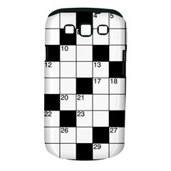 Crosswords  Samsung Galaxy S Iii Classic Hardshell Case (pc+silicone) by Valentinaart