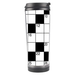Crosswords  Travel Tumbler by Valentinaart