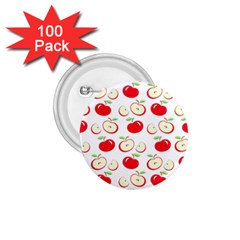 Apple Pattern 1 75  Buttons (100 Pack)  by Valentinaart