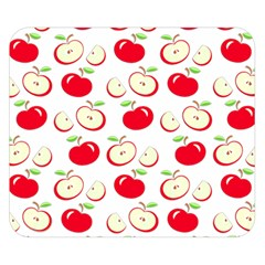 Apple Pattern Double Sided Flano Blanket (small)  by Valentinaart