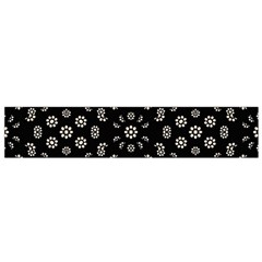 Dark Ditsy Floral Pattern Flano Scarf (small) by dflcprintsclothing