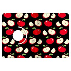 Apple Pattern Kindle Fire Hdx Flip 360 Case by Valentinaart