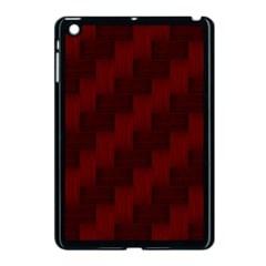 Pattern Apple Ipad Mini Case (black) by Valentinaart