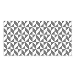 Pattern Satin Shawl by Valentinaart