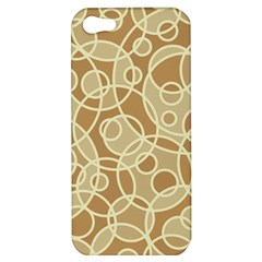 Pattern Apple Iphone 5 Hardshell Case by Valentinaart