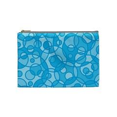 Pattern Cosmetic Bag (medium)  by Valentinaart