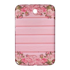 Pink Peony Outline Romantic Samsung Galaxy Note 8 0 N5100 Hardshell Case  by Simbadda