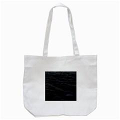 Dark Lake Ocean Pattern River Sea Tote Bag (white) by Simbadda