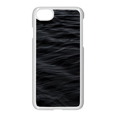 Dark Lake Ocean Pattern River Sea Apple Iphone 7 Seamless Case (white) by Simbadda