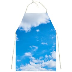 Sky Blue Clouds Nature Amazing Full Print Aprons by Simbadda