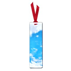 Sky Blue Clouds Nature Amazing Small Book Marks by Simbadda