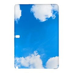 Sky Clouds Blue White Weather Air Samsung Galaxy Tab Pro 12.2 Hardshell Case by Simbadda