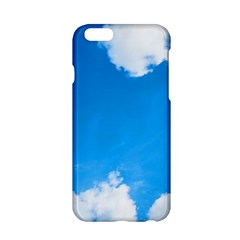 Sky Clouds Blue White Weather Air Apple Iphone 6/6s Hardshell Case by Simbadda