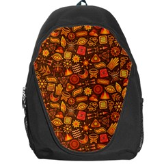 Pattern Background Ethnic Tribal Backpack Bag by Simbadda
